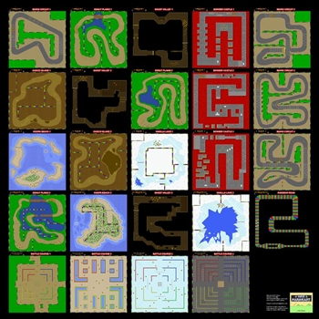Super Mario Kart ( Super Nes ) Map10