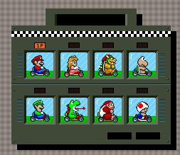 Super Mario Kart ( Super Nes ) Select10