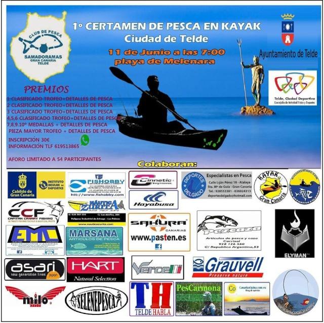 1º certamen de pesca a Kayak ciudad de Telde 2016 13102610