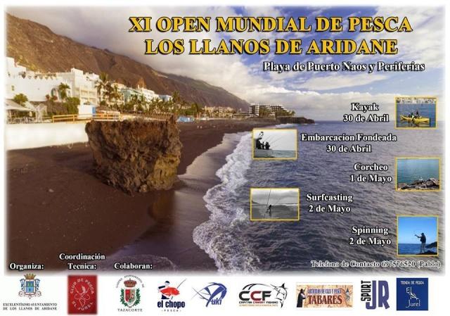 XI OPEN MUNDIAL DE PESCA MAYO 2016 LA PALMA Openla10