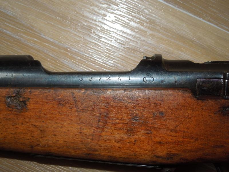 Arisaka type 30 modèle carabine 7,92mm Dscn0315