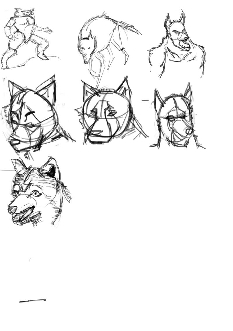 IM Challenge #3  [Lazu] : Les loups garoux de Thiercelieux Les_lo10