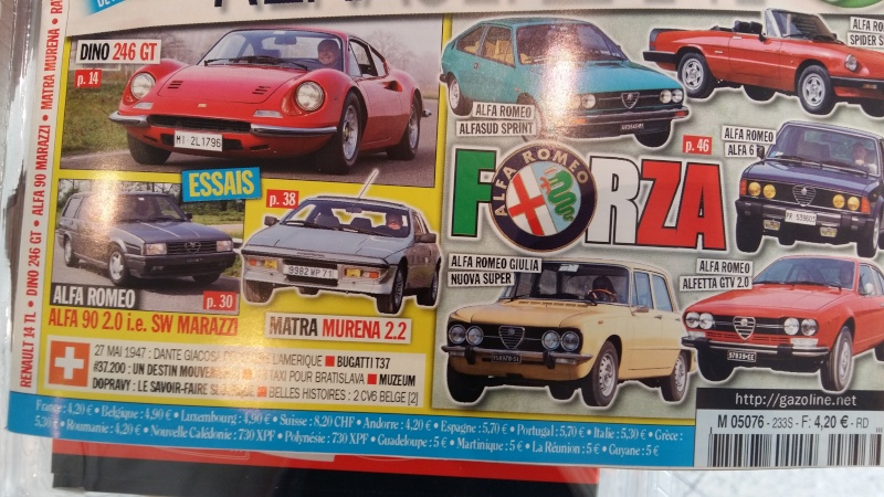 Alfa et la presse automobile - Page 37 20160423