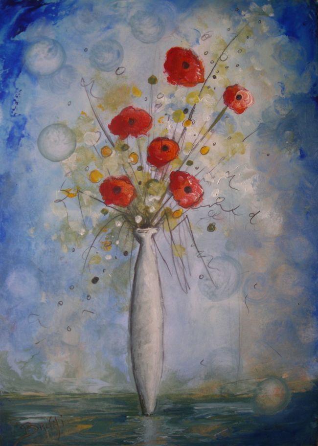 Les FLEURS  dans  L'ART - Page 22 00461211