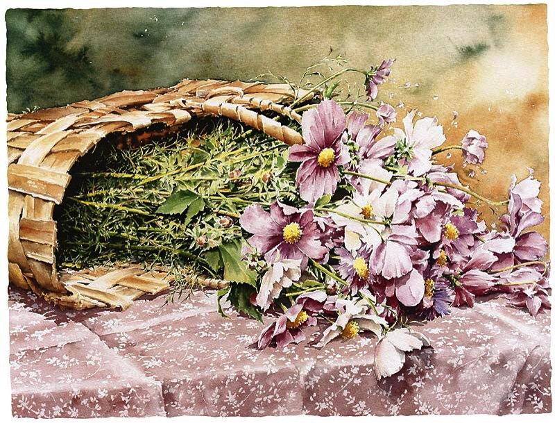 Les FLEURS  dans  L'ART - Page 22 Christ11