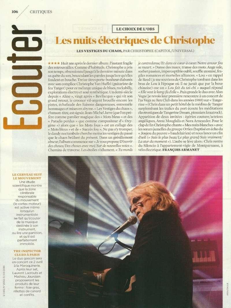 Critiques Albums Les vestiges du Chaos !  L_obs10