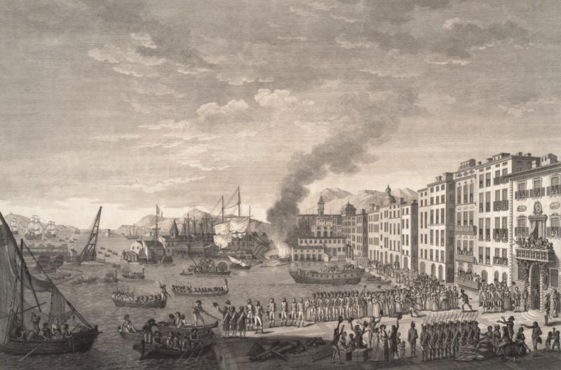 le siège et la prise de Toulon - 1793 Arrivy10