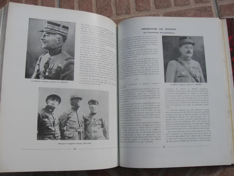 Très beau livre : Le Service de Santé Militaire de ses origines à nos jours. Négociable !ESC 1 Vendu Img_1011