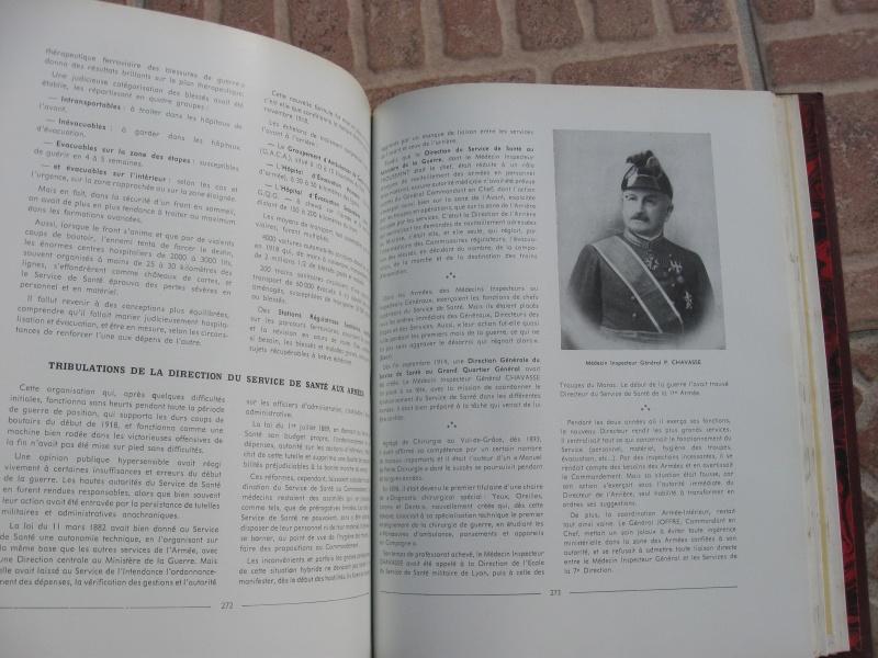 Très beau livre : Le Service de Santé Militaire de ses origines à nos jours. Négociable !ESC 1 Vendu Img_1013