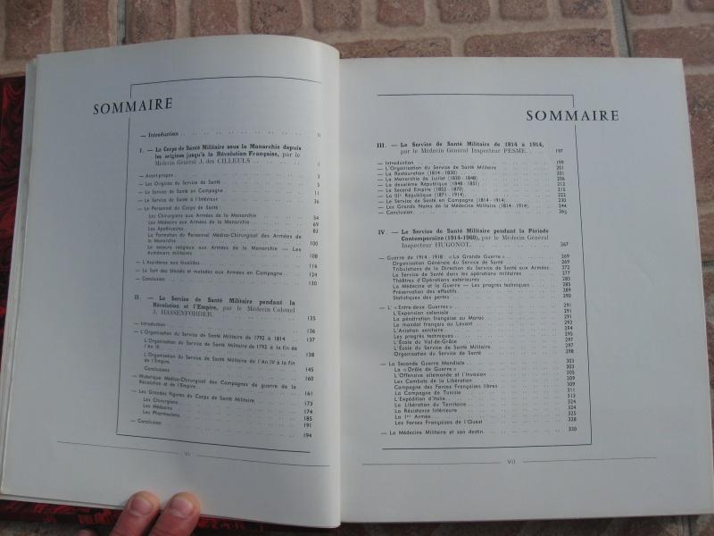 Très beau livre : Le Service de Santé Militaire de ses origines à nos jours. Négociable !ESC 1 Vendu Img_1016