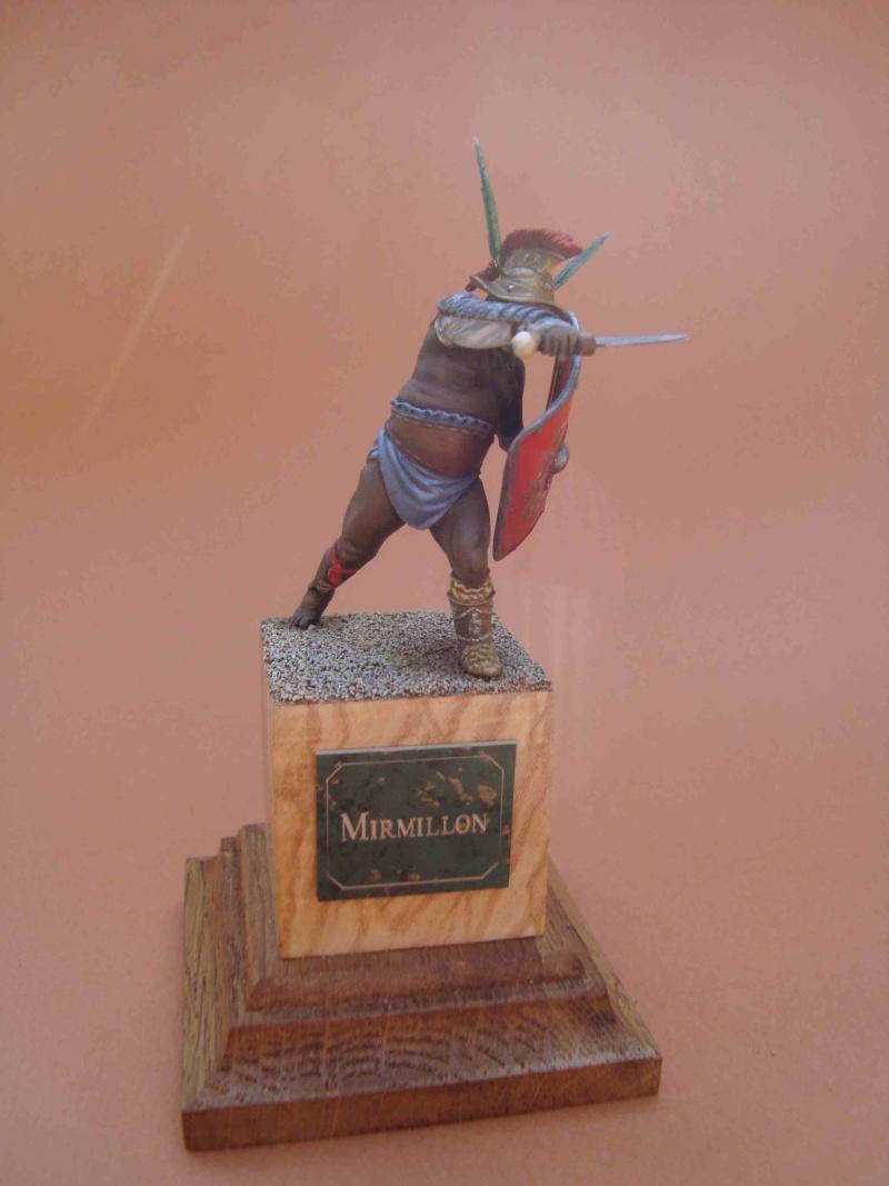 """2ème Gladiateur """" Mirmillon """" 25r10"""