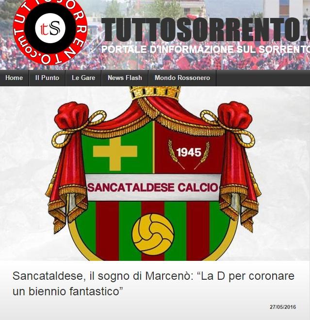 Sem. ritorno play off nazionali: Sancataldese - sorrento 1-1 113