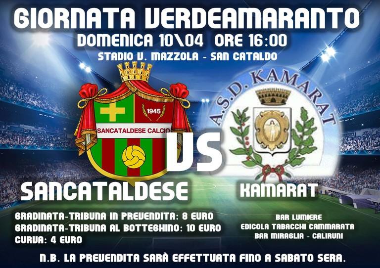 Campionato 29°giornata: Sancataldese - kamarat 3-1 12916711