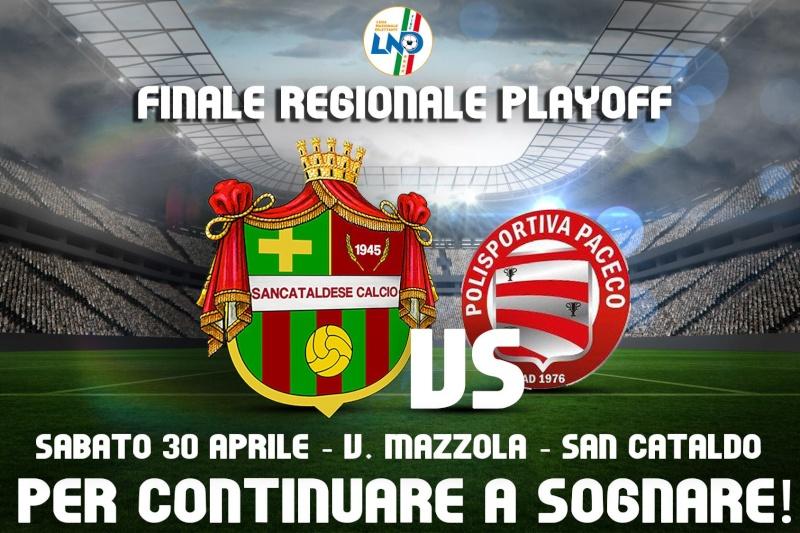 Finale regionale play off: Sancataldese - paceco 1-0 13048211