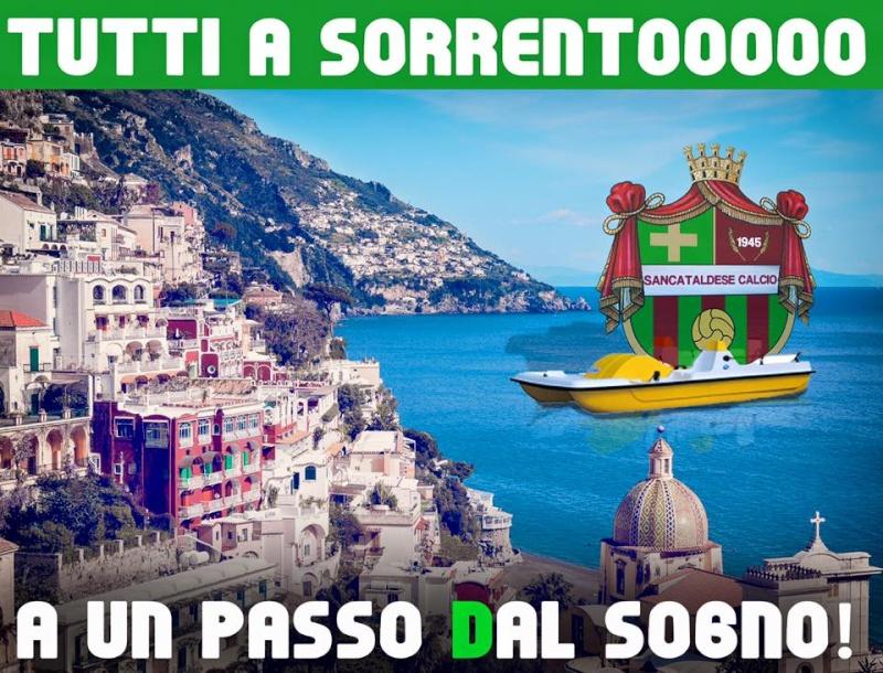 Sem. andata play off nazionali: sorrento - Sancataldese 1-3 13083310