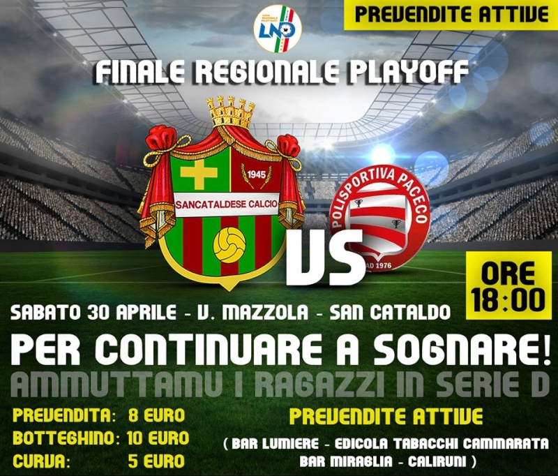 Finale regionale play off: Sancataldese - paceco 1-0 13094110