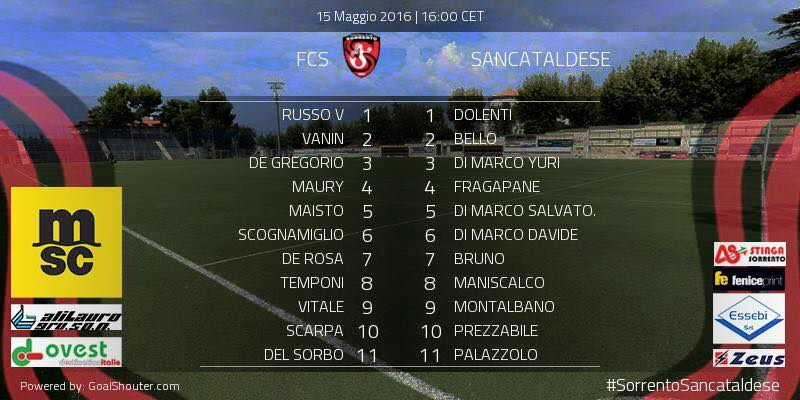 Sem. andata play off nazionali: sorrento - Sancataldese 1-3 13177810