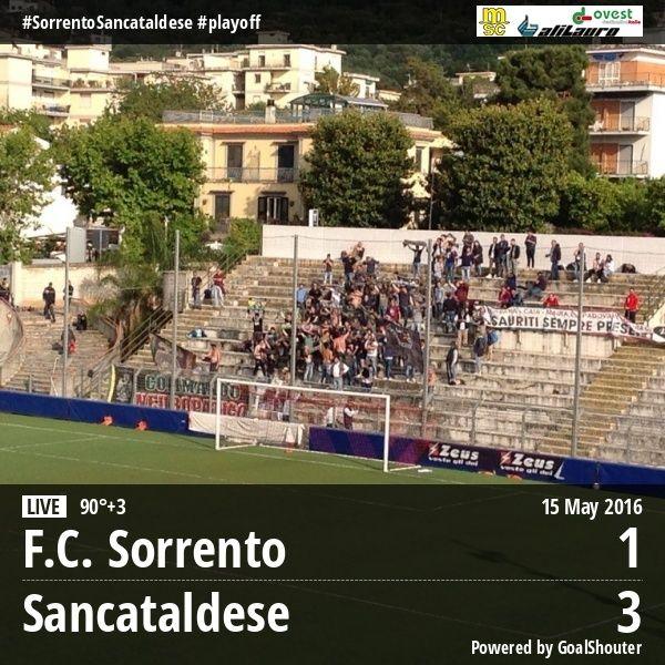 Sem. andata play off nazionali: sorrento - Sancataldese 1-3 13241210