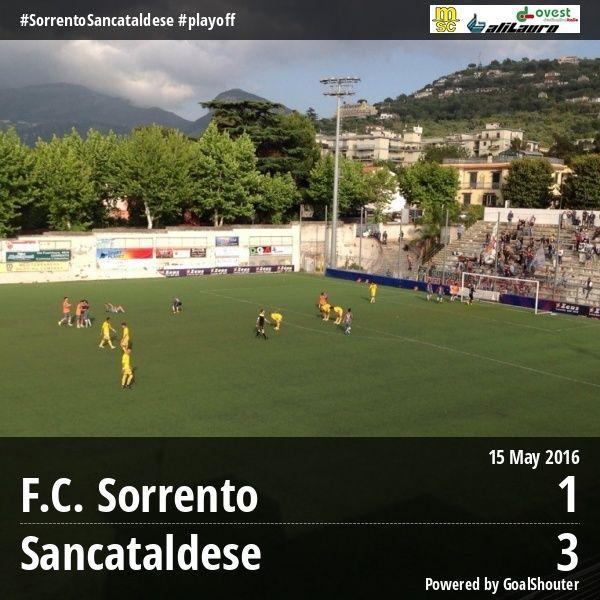 Sem. andata play off nazionali: sorrento - Sancataldese 1-3 13241310