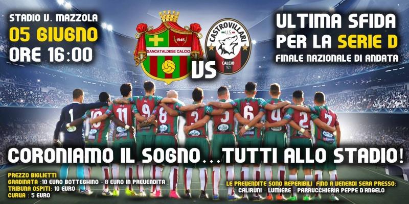 Finale andata nazionale: Sancataldese - castrovillari 0-3 13268510