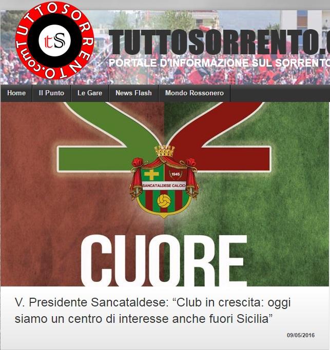 Sem. andata play off nazionali: sorrento - Sancataldese 1-3 Artico11