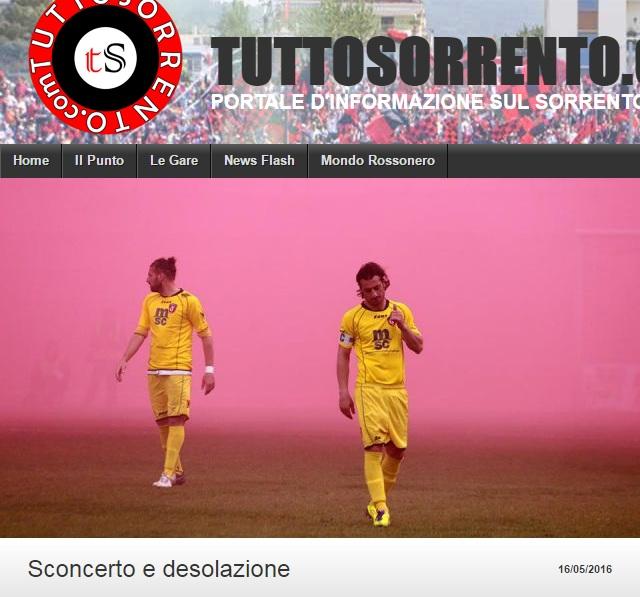 Sem. andata play off nazionali: sorrento - Sancataldese 1-3 Artico20