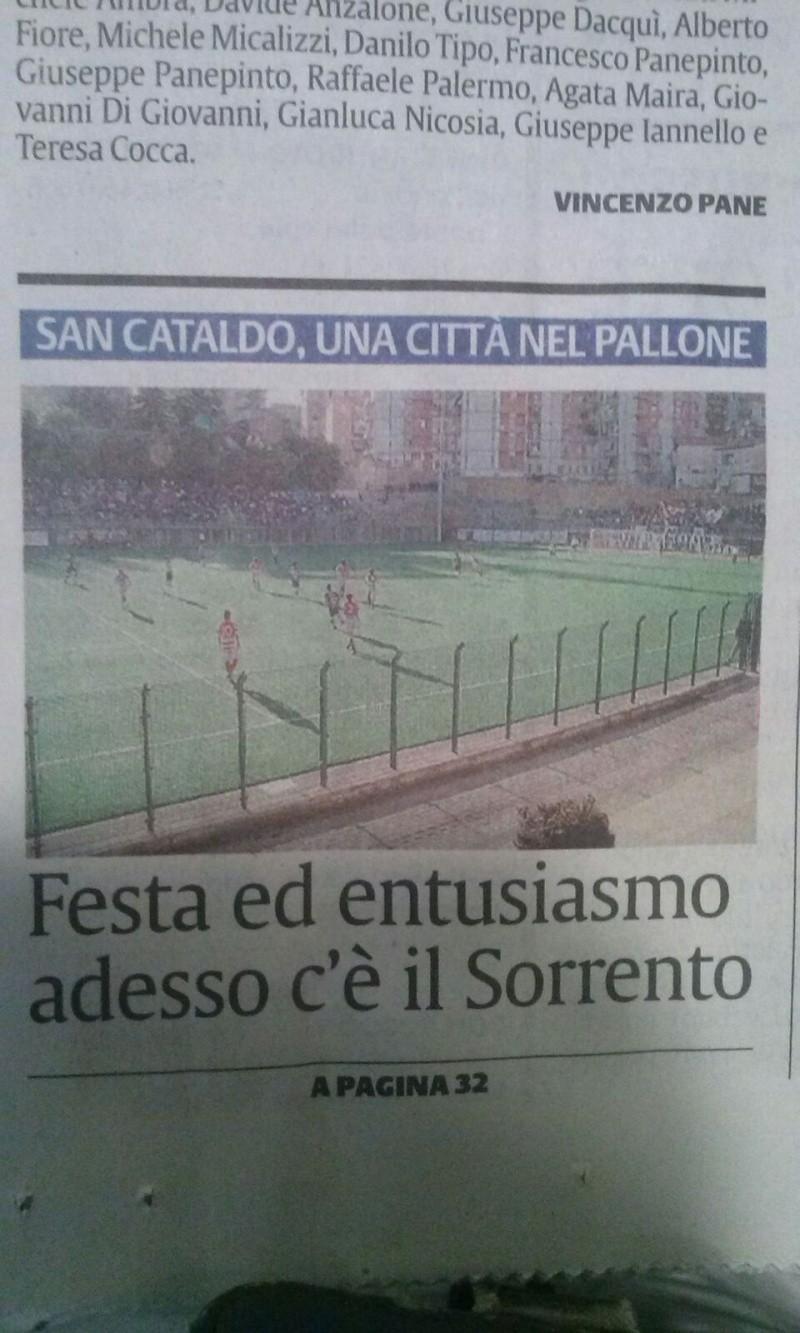 Sem. andata play off nazionali: sorrento - Sancataldese 1-3 Img-2019