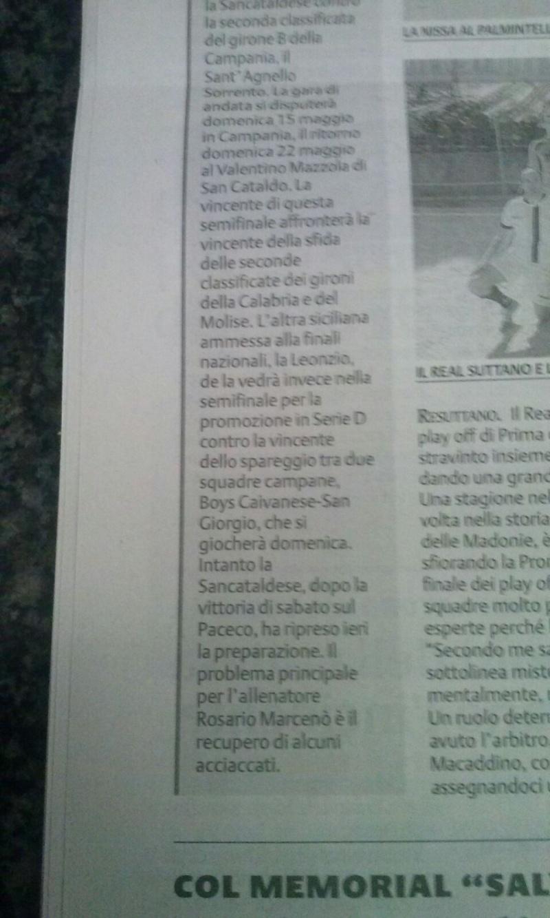 Sem. andata play off nazionali: sorrento - Sancataldese 1-3 Img-2023