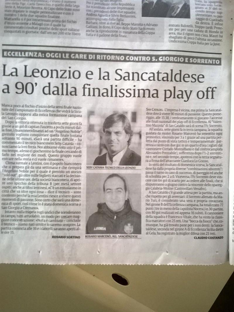 Sem. ritorno play off nazionali: Sancataldese - sorrento 1-1 Img-2026