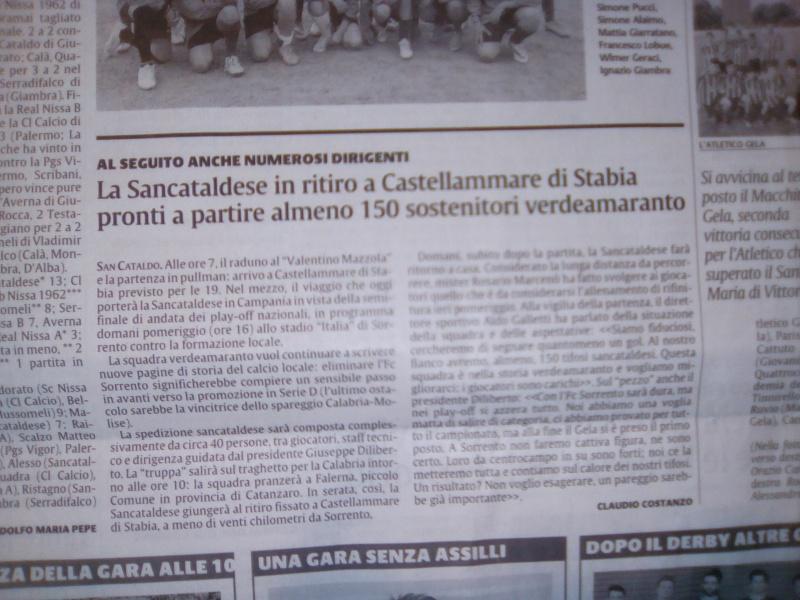 Sem. andata play off nazionali: sorrento - Sancataldese 1-3 Img_2021