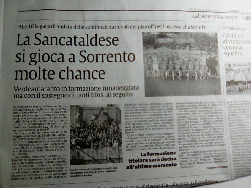 Sem. andata play off nazionali: sorrento - Sancataldese 1-3 Img_2022