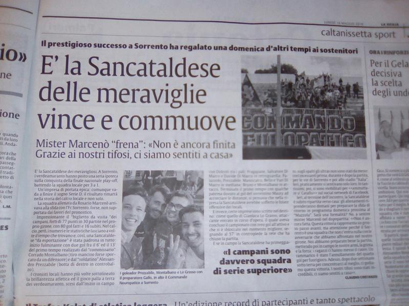 Sem. andata play off nazionali: sorrento - Sancataldese 1-3 Img_2023