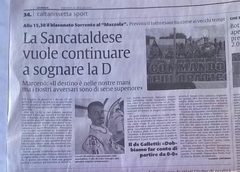 Sem. ritorno play off nazionali: Sancataldese - sorrento 1-1 Img_2026