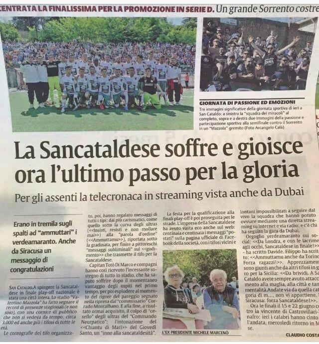 Sem. ritorno play off nazionali: Sancataldese - sorrento 1-1 Img_2027