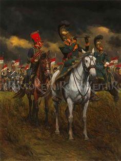 2ème Régt Chevau-Léger de la Ligne 1811-1815 (FINI) 670edb10