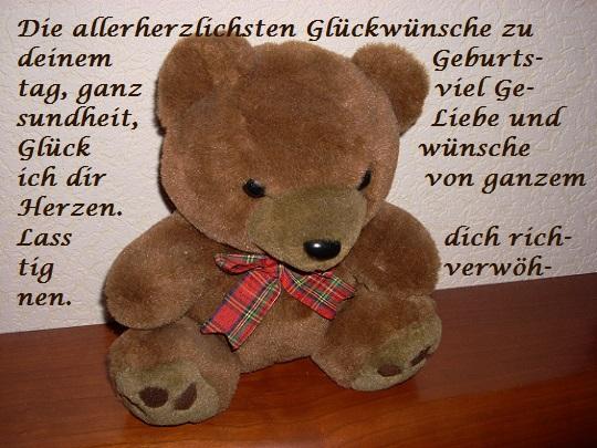 Happy Birthday Teddybär Dscn0610