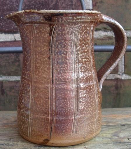 Salt-glazed jug SP mark - Stonehill Pottery? M. Cartwright, Spike Pottery? Sg_jug10