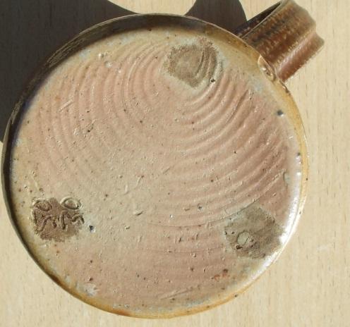 Salt-glazed jug SP mark - Stonehill Pottery? M. Cartwright, Spike Pottery? Sg_jug11