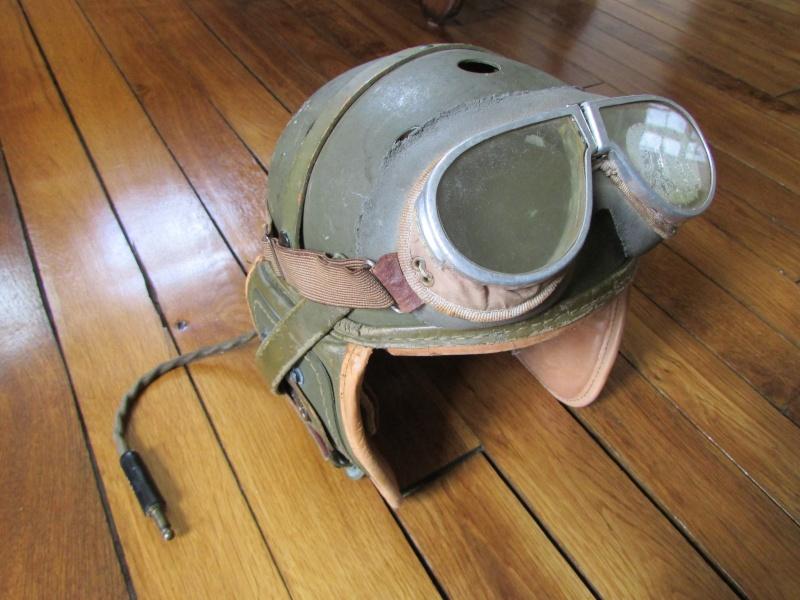 Casque de tankiste US WW2 Img_0920