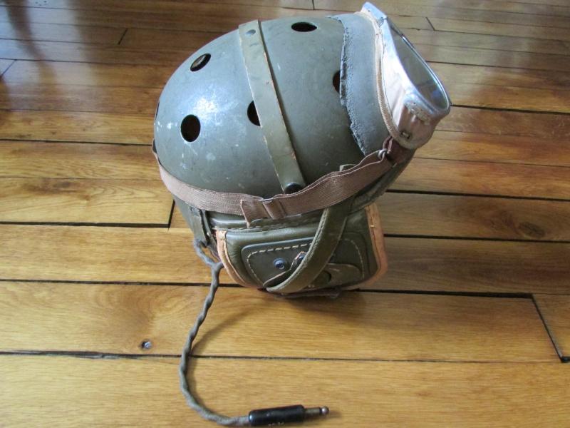 Casque de tankiste US WW2 Img_0922