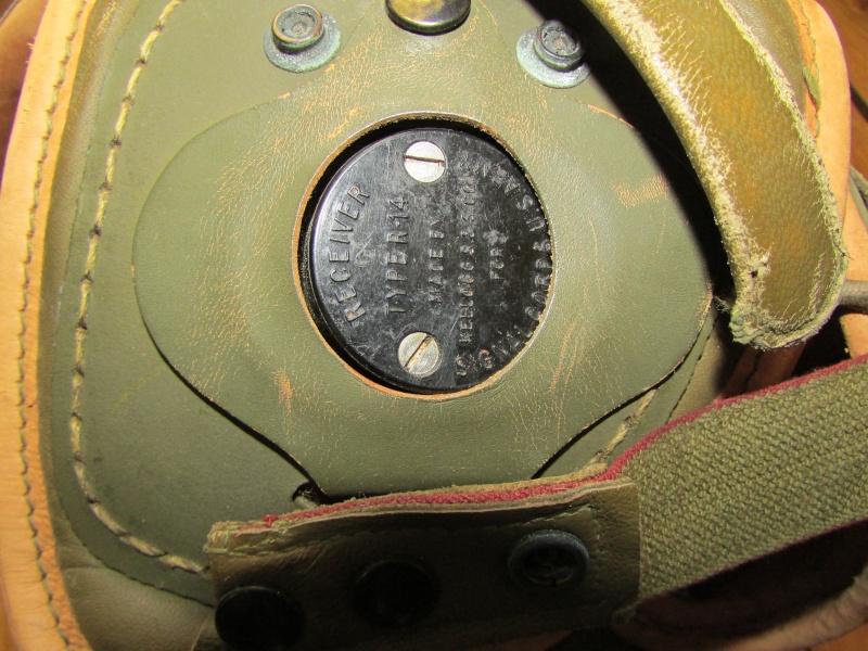 Casque de tankiste US WW2 Img_1012