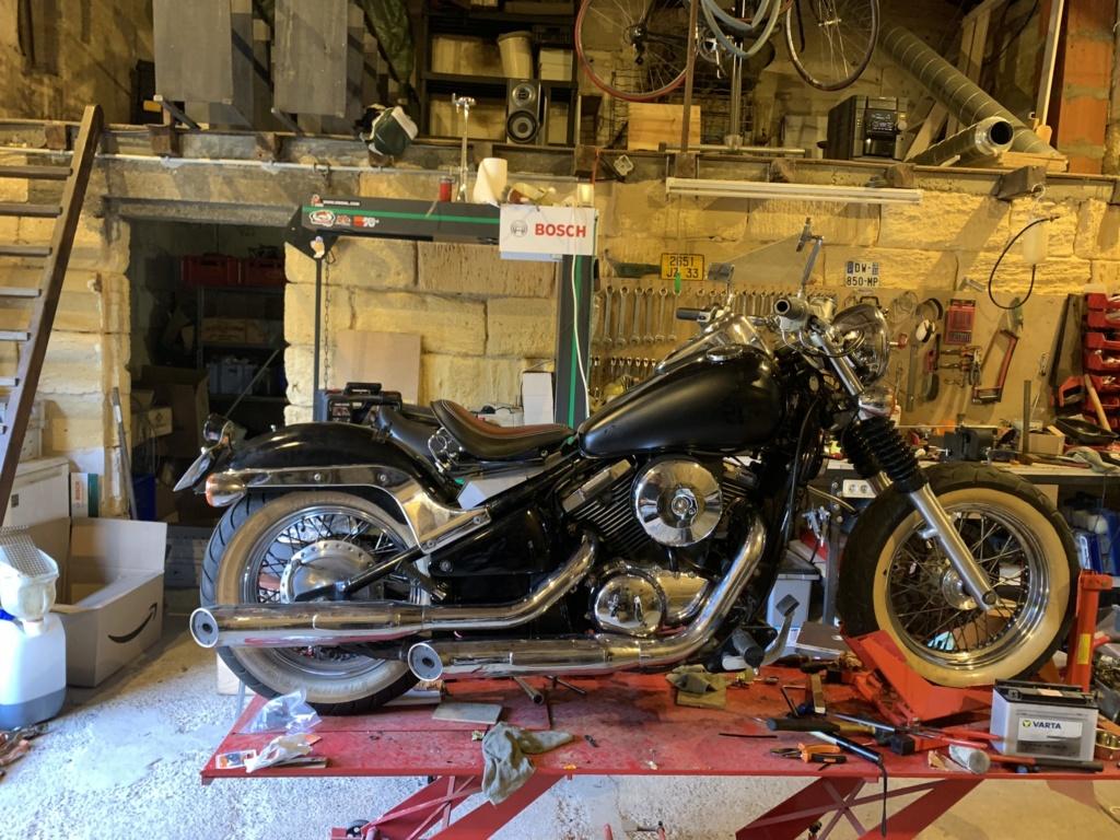 800 VN - Big'S Garage : nouveau projet !! Img_1326