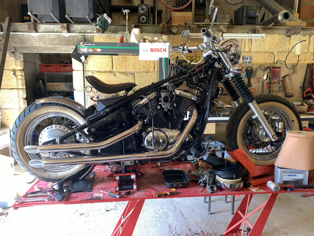 800 VN - Big'S Garage : nouveau projet !! Img_1428