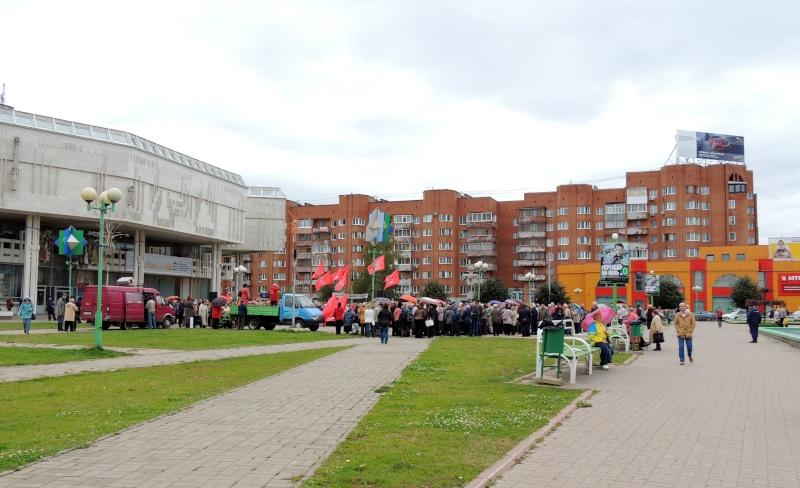 Политическая жизнь города Ярославля Dscn7921