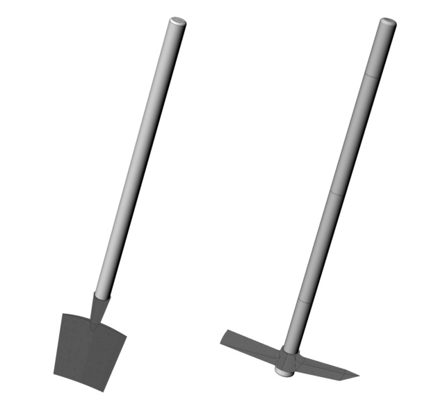 Les outils à pionniers et tranchans Pelle_10