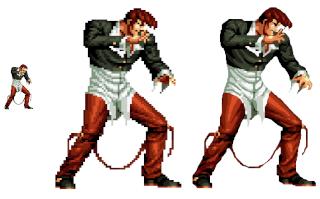 Análisis de The King of Fighters XIV y su evolución gráfica  Iori_y11