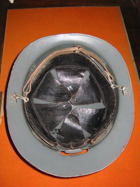 Casque mle 39 de marine 120-2010