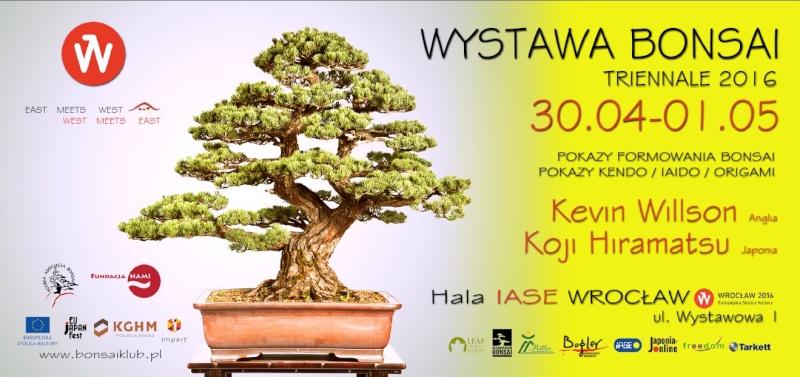 Bonsai Triennale 2016 - Wrocław 30/04-01/05 POLAND  Ulotka11