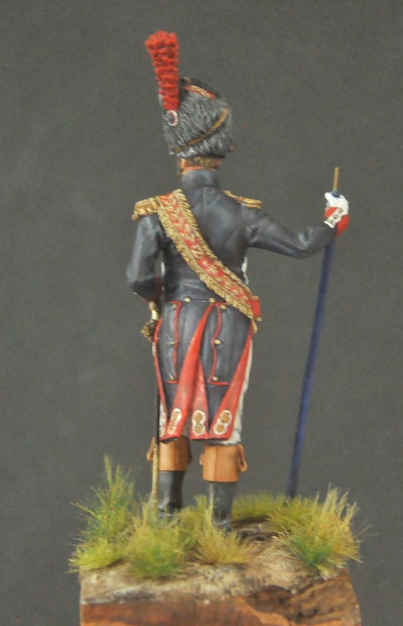 Porte-Drapeau 1er Régiment des Grenadiers à Pied G.I. 75 mm Pegaso. Photos finales Dsc_0012