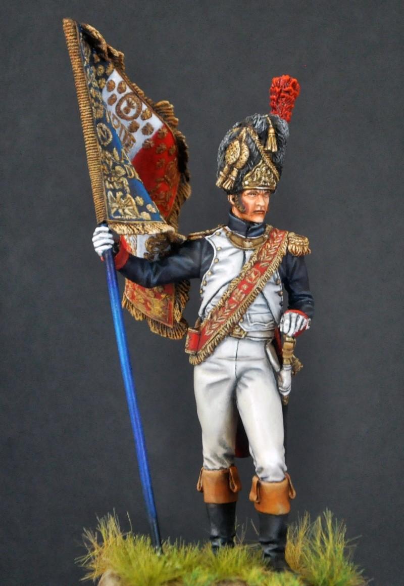 Porte-Drapeau 1er Régiment des Grenadiers à Pied G.I. 75 mm Pegaso. Photos finales Dsc_0019